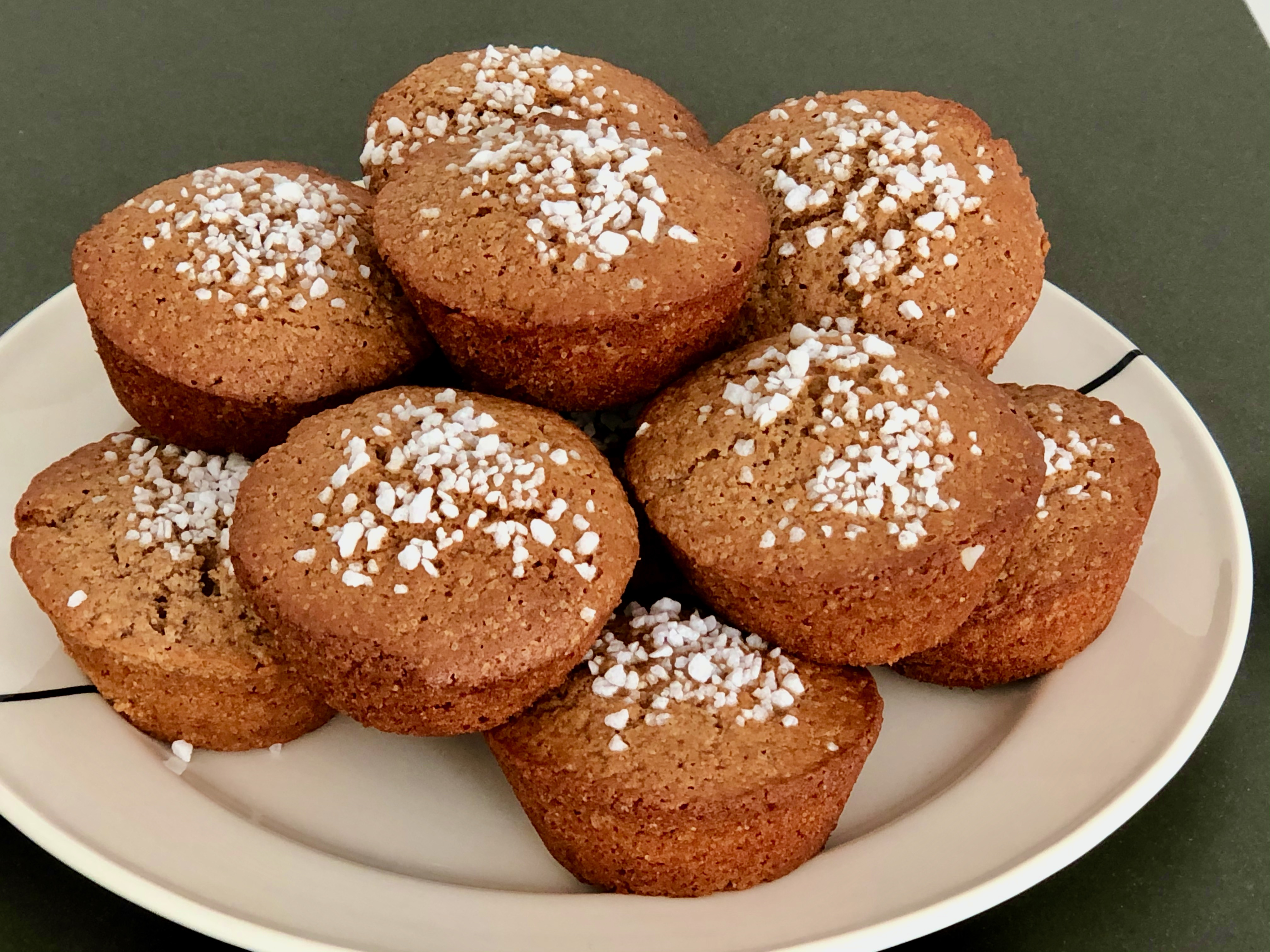 Vlaamse peperkoek muffins
